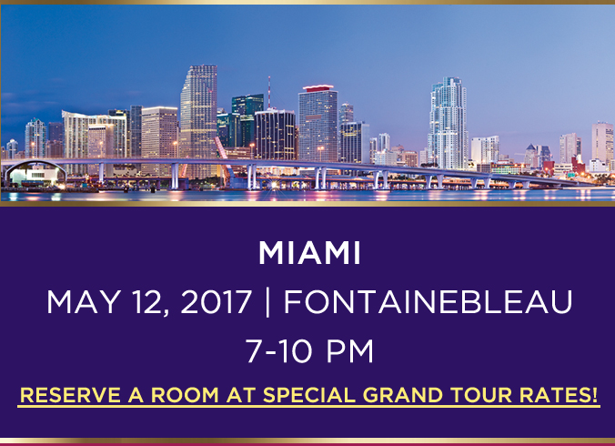 MIAMI MAY 12, 2017 | FOUNTAINE BLEAU