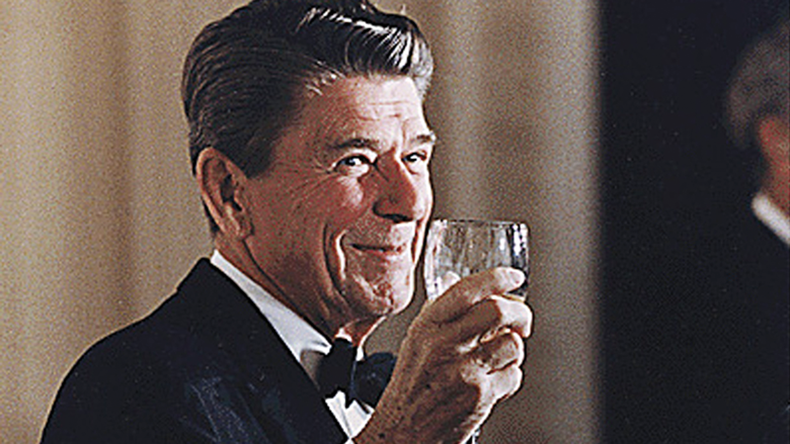 Ronald Reagan supported California wines in the 1980s.