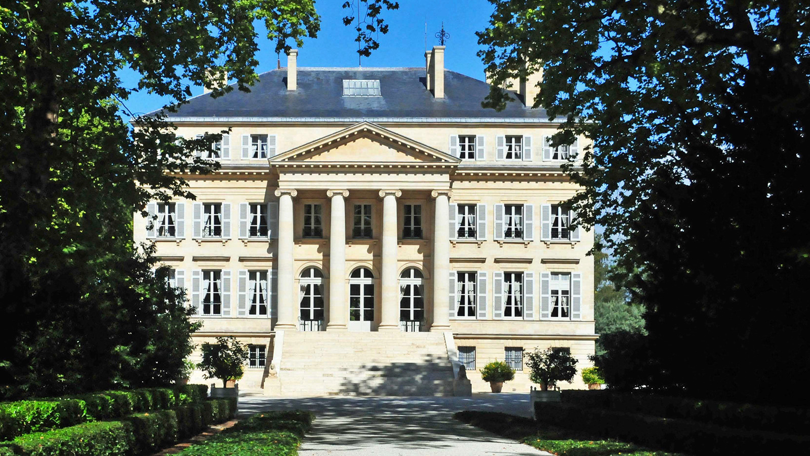 Image gallery margaux for Chateau margaux