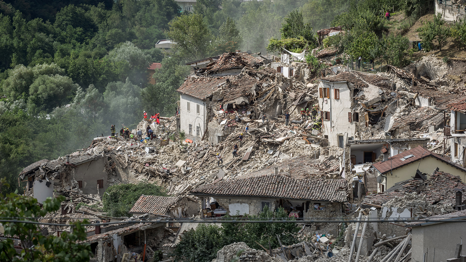 Earthquake Devastates Central Italy News News