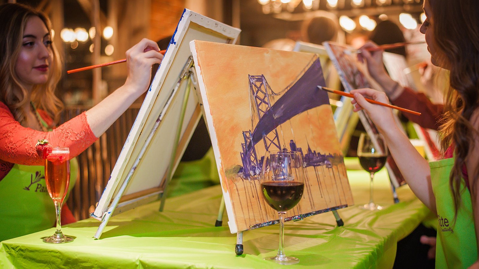 Painting sipping and selling wine news news for Painting and wine
