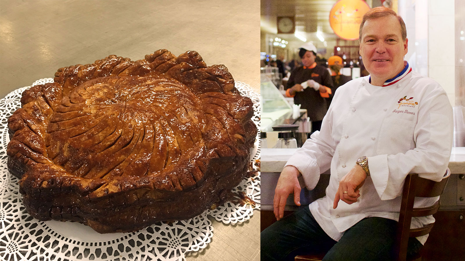 Holiday Dessert Recipe Jacques Torres G 226 Teau Pithivier Seasonal News Amp Features Wine